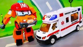 Мультики про машинки. Скорая помощь и Новая игрушка спешат на помощь. ЛЕГО Мультфильмы для детей