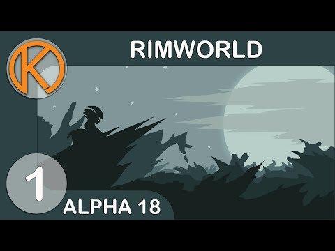 NEW SWAMP BIOME | RimWorld Alpha 18 - Ep. 1 | Let's Play RimWorld Alpha 18 Gameplay