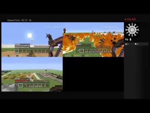 Minecraft Great war Germany vs Austro Hungarian Empire vs U.K.