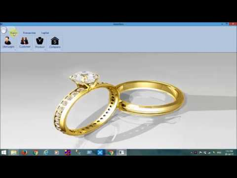 Jewellery Shop Bill Printing Softwarewith GST By Shitalinfotech - Free invoice system best online jewelry store