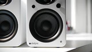 Steljes NS3 Speakers Review - Great Audio and Premium Looks!