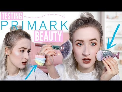 Testing NEW Primark Beauty 2018 (Makeup & Brushes etc…) | Sophie Louise