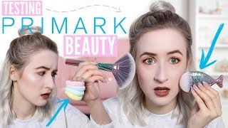 Testing NEW Primark Beauty 2018 (Makeup & Brushes etc...) | Sophie Louise