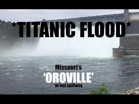 *Massive Dams- FULL- Open Flood Gates* | 28 MILLION Gallons Per Minute! | Branson, MO Flood