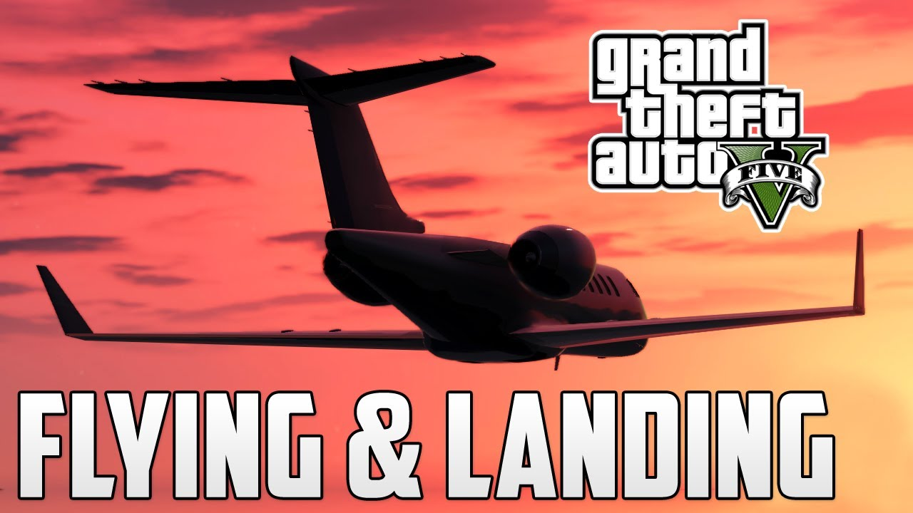 GTA V - How to Land Planes