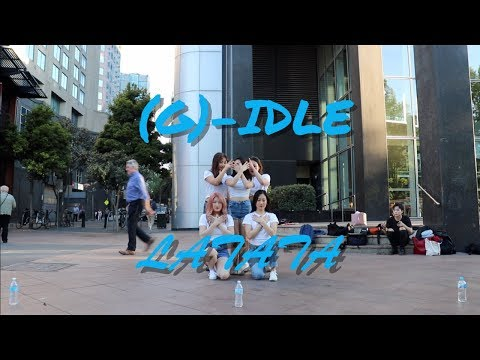 [LUDA] (G)-IDLE 여자 아이들 - 라타타 (LATATA)│DANCE COVER│K-POP in MELBOURNE (Busking)