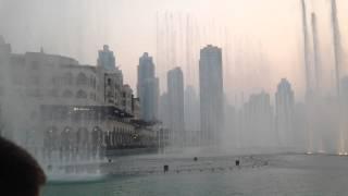 DUBAI FOUNTAIN 09 2014 EVENING