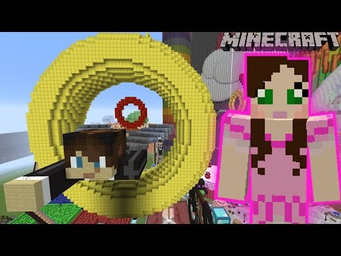 Minecraft: GOLDEN RINGS GAME - FUN TIME PARK [9]
