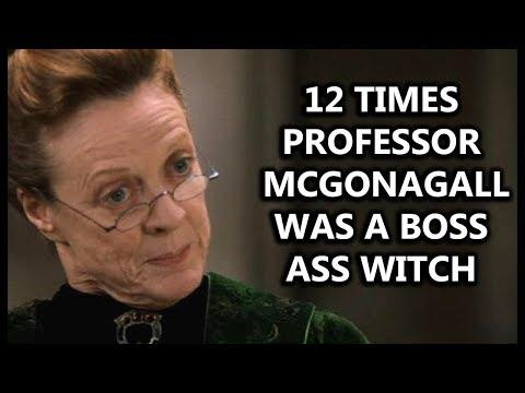 12 Times Professor McGonagall Was a Boss Ass Witch (Reupload)