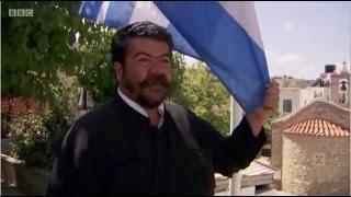 Πάπα Ανδρέας κεφαλογιαννης Anogeia Greece with Simon Reeve BBC Documentary 2016