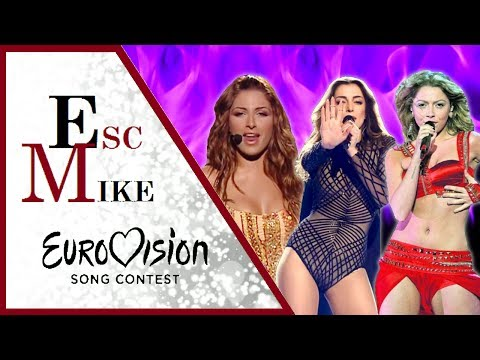 Eurovision Most BEAUTIFUL Women - My Top 30 [2000 - 2017]