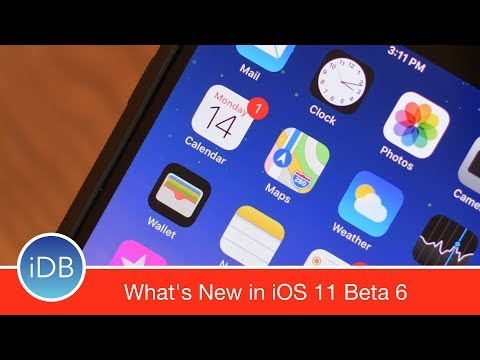 10+ Changes in iOS 11 Beta 6: New Icons, AirPods Animation, & More