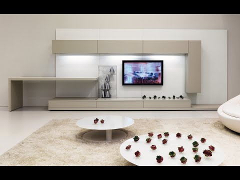 Living Room Modern TV Cabinet 2019 - Wall Mounted Tv Unit ...