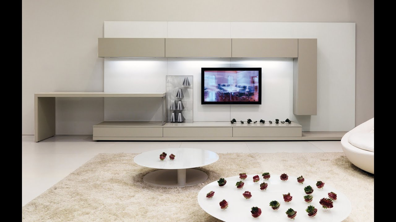 Living Room Modern Tv Cabinet 2019 Wall Mounted Tv Unit 2019 Youtube