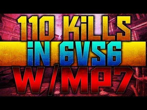 110 Kills w/ Specialist in 6vs6 Domination - Modern Warfare 3