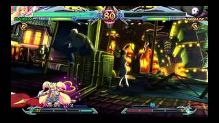 Platinum The Trinity Arcade English Dub Part 1/4 Blazblue Chrono Phantasma Extend