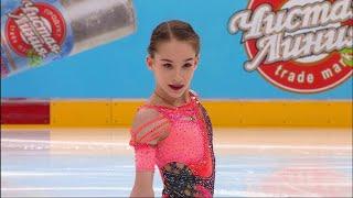 Софья Акатьева Короткая программа Девушки Финал Кубка России по фигурному катанию 2020 21