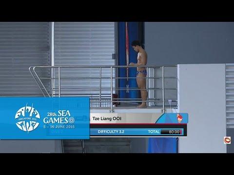 Aquatics Diving Men's Platform Finals (Day 3) |28th SEA Games Singapore 2015