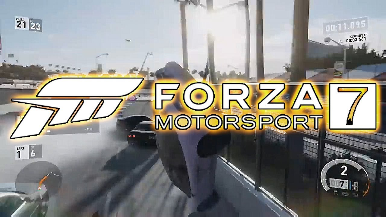 The Forza 7 Multiplayer Experience
