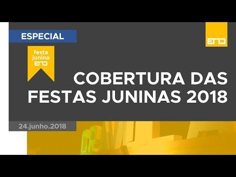 FESTA JUNINA END   SÃO JOÃO DE CRAVOLÂNDIA, BA   24.jun.2018 FHD