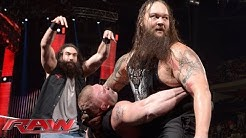 """The Highlight Reel"" mit Roman Reigns und Brock Lesnar: Raw, 18. Januar 2016"