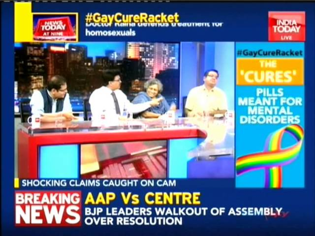 Dr Ravi Malik, Joint Secretary IMA, discussing on the issue of transgender at India Today