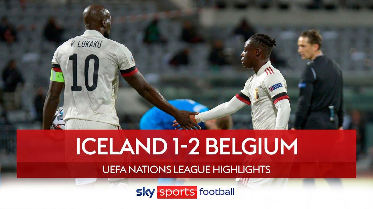 Highlight: Iceland vs Bỉ