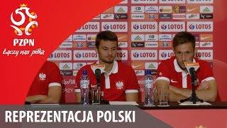 Konferencja reprezentacji Polski (Warszawa, 31.08.2016)