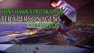 "Gamers News - ""Tony Hawk's Pro Skater 5"" terá personagens exclusivos"