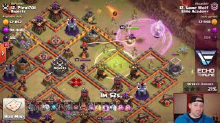 MAX TH12 GAMEPLAY- CLASH OF CLANS TOWN HALL 12 ATTACKS/NEW COC TROOP ELECTRO DRAGON WAW