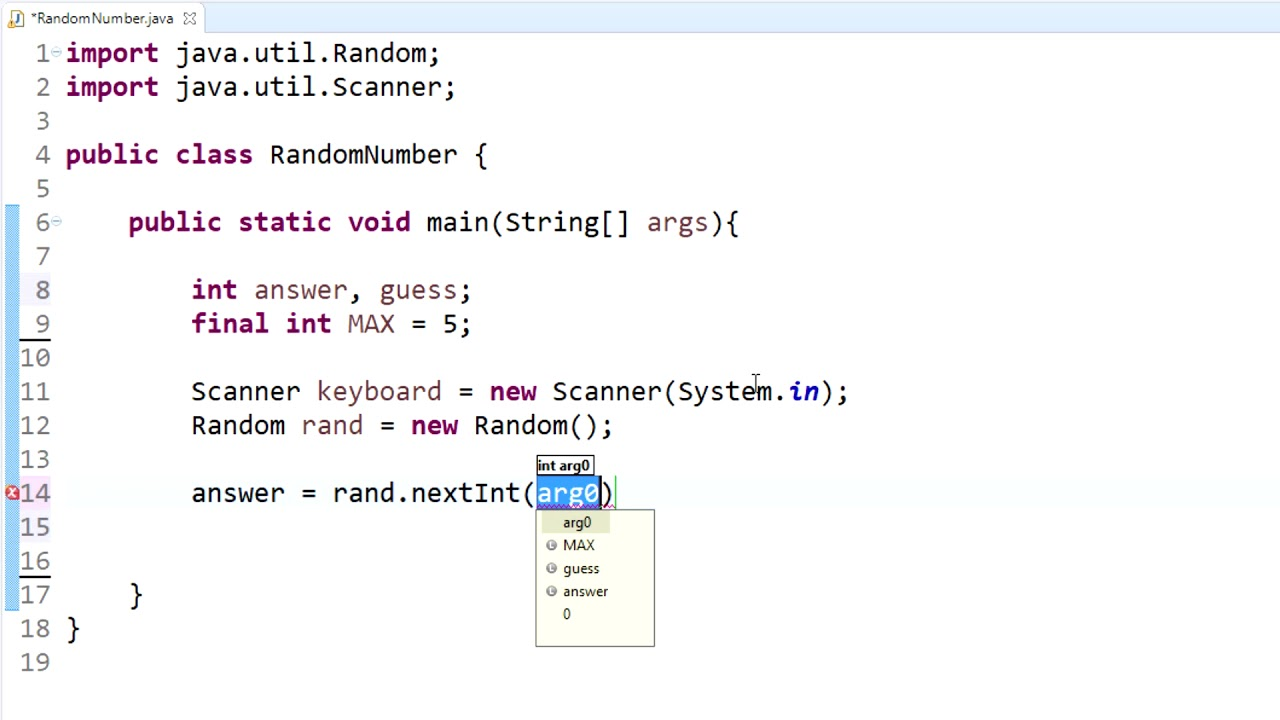 Program: How to create random string with random characters?