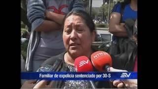 Familiares de 5 expolicías setenciados por 30-S solicitan indulto presidencial