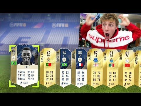 95 PELE & 94 RONALDO IN THE MOST ICONIC FIFA 18 PACK OPENING