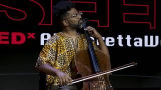 Okorie Johnson's opening Act with his Cello!  | Okorie Johnson | TEDxAlpharettaWomen