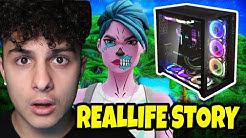 Mein neuer 6000€ PC wurde abgezogen. Reallife Story in Fortnite Deutsch