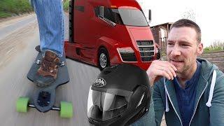 Tesla Semi Trucks and A Helmet Maybe!