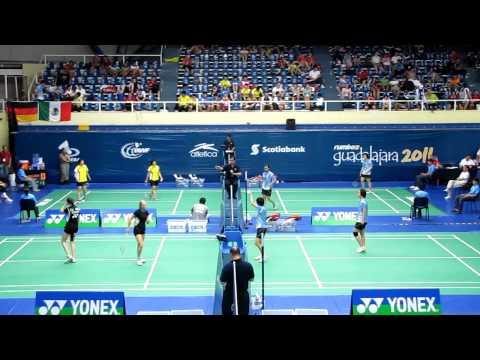 2010 BWF World Junior Championships - WD Semifinal...