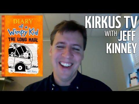 Kirkus TV Interview with Bestselling Children's Author Jeff Kinney