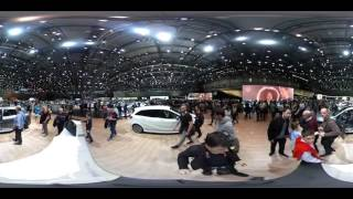 Salon Auto Geneve 2016. 360° video tour