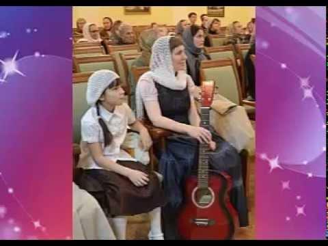 на гитаре играет ученица Виктории Юд. Ольга Азыркина