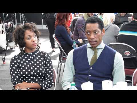 NYCC 2013 - Sleepy Hollow's Nicole Beharie and Orlando Jones