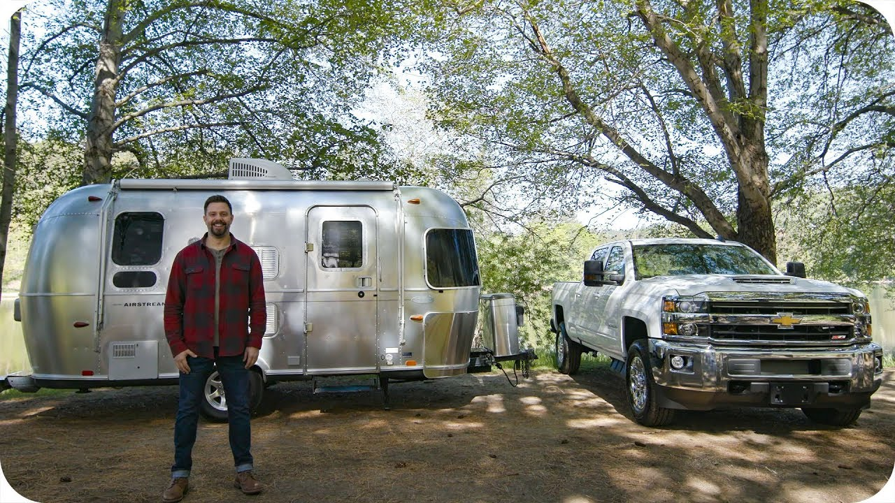 Win an Airstream Flying Cloud + Chevy Silverado // Omaze