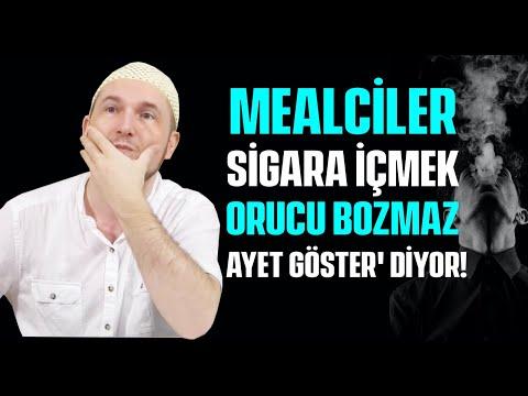 Mealciler, 'Sigara içmek orucu bozmaz, ayet göster' diyor! / Kerem Önder