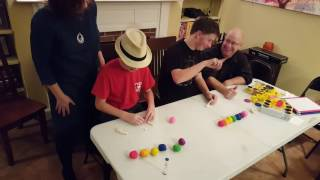 "Thanksgiving part 2 play-doh sculptionary Team Ronn vs Team Ronn ""Putter"""