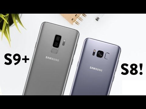 Galaxy S9 vs Galaxy S8: vale o UPGRADE? Comparativo completo =)