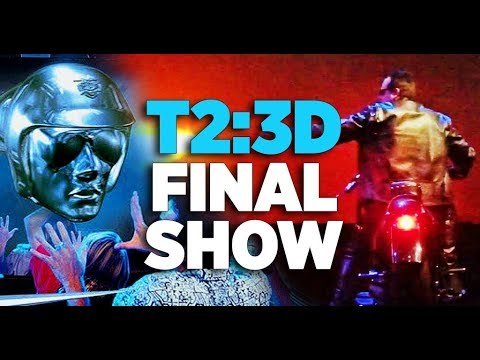 Last Show Ever of Terminator 2: 3D at Universal Studios Orlando