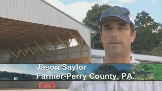 Engineer turned farmer describes how NRCS is helping him help his land(Jason Saylor is an engineer, turned farmer who operates a beef and poultry operation in Perry County, Pennsylvania. Saylor and Ashley Lenig of the USDA ..., 2015-12-08T21:17:14.000Z)