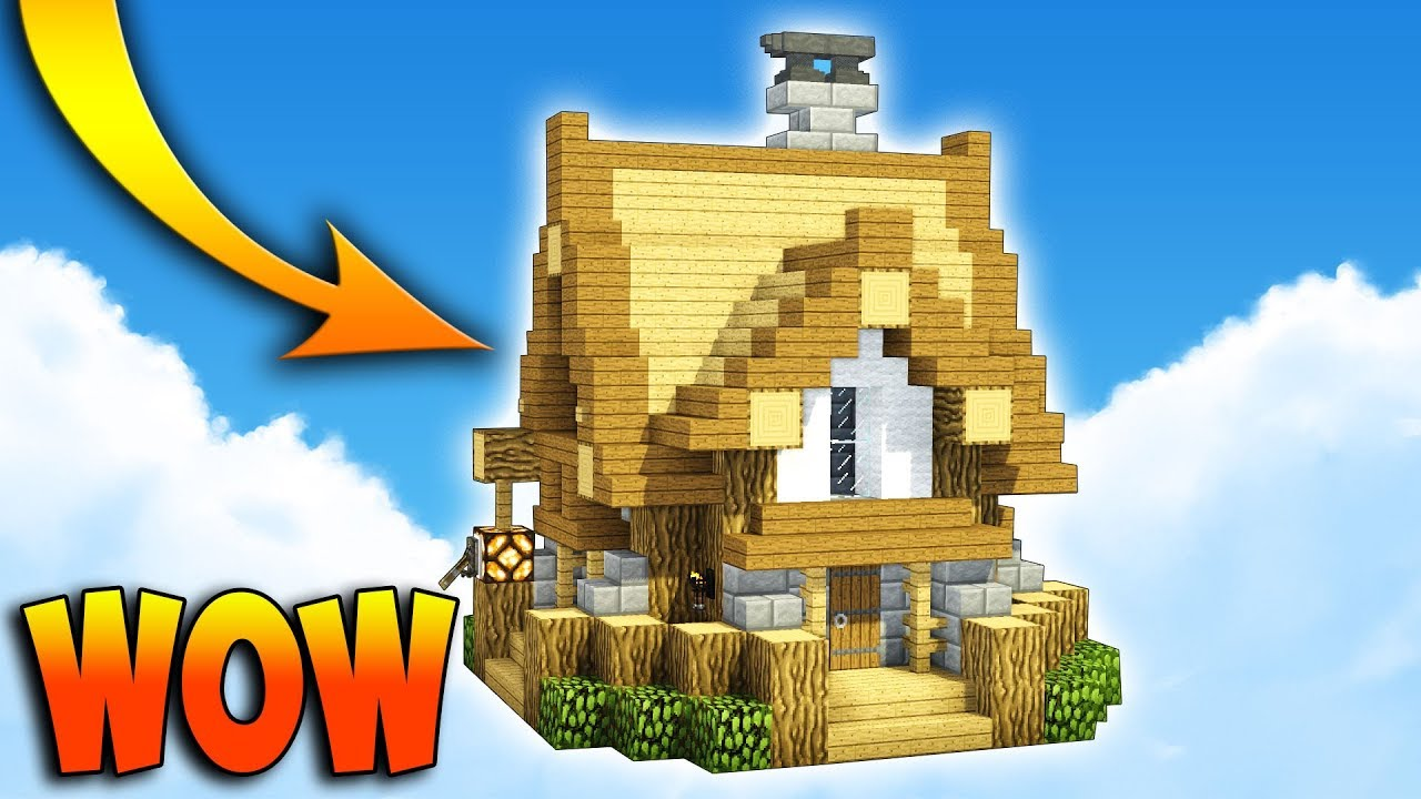 Small  U0026 Compact Medieval House  Minecraft Tutorial