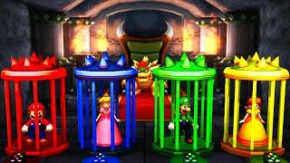 Mario Party The Top 100 - Mario vs Peach vs Luigi vs Daisy (Master Difficulty)