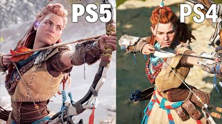 PS5 vs PS4: EARLY Graphics Comparison [4K]